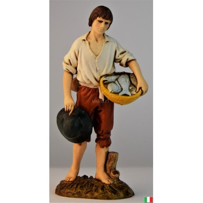 Uomo pescatore Landi cm. 12