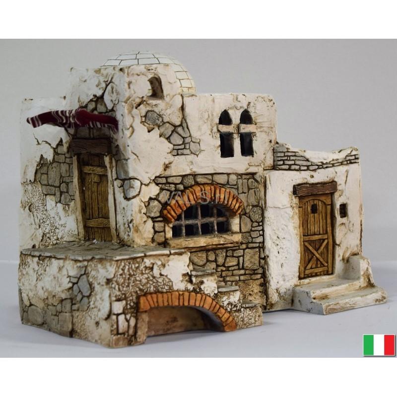 Casa presepe in stile palestinese for Fontana presepe fai da te