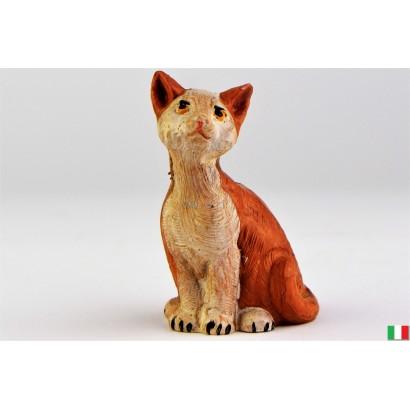 Gatto seduto Fontanini cm 12