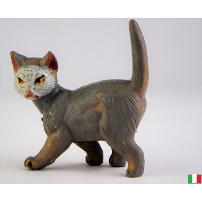 Gatto in piedi Fontanini cm 12