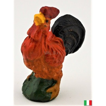 Gallo in terracotta cm. 3,5