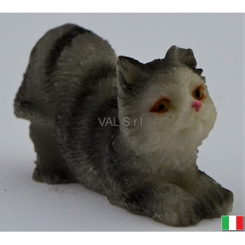 Gatto in terracotta cm. 3