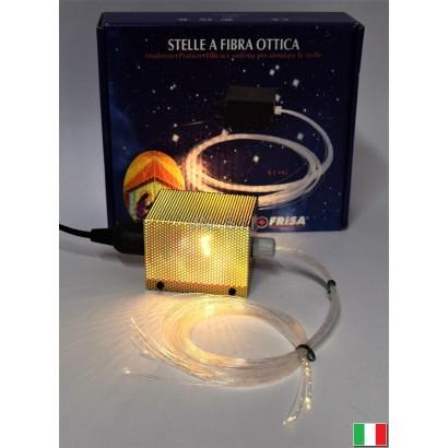 STELLE A FIBRA OTTICA - 30 FILI ASSORTITI.