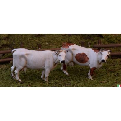 Set di 2 mucche in piedi landi cm 10