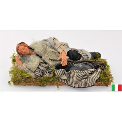 Uomo pastore che dorme in...
