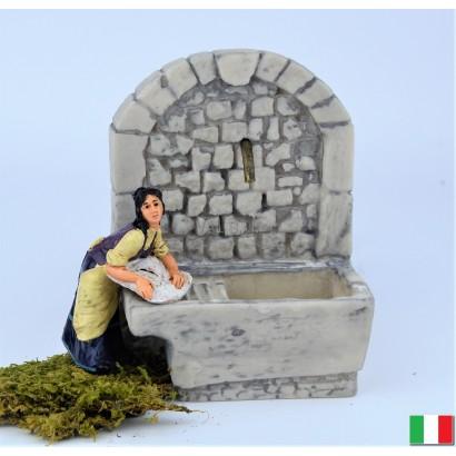 Donna lavandaia Euromarchi. 10