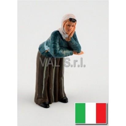 Donna affacciata Euromarchi...