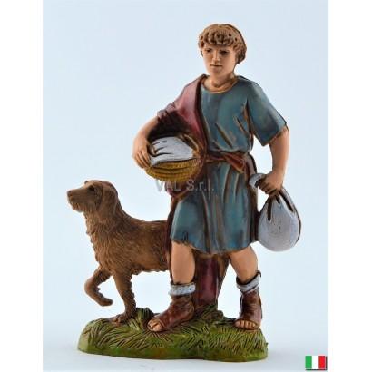 Uomo con cane Landi cm. 10