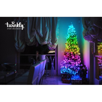 LUCI NATALIZIE SMART TWINKLY MT. 20 - MULTICOLOR