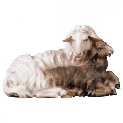 Pecora con agnello sdraiato...