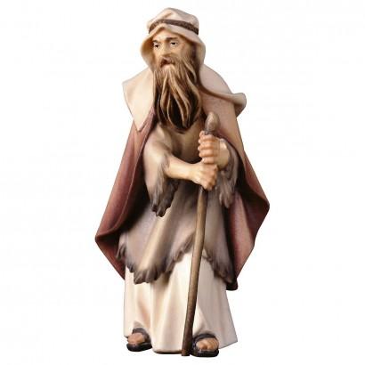 Anziano pastore con bastone