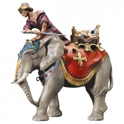 Gruppo elefante con sella gioielli