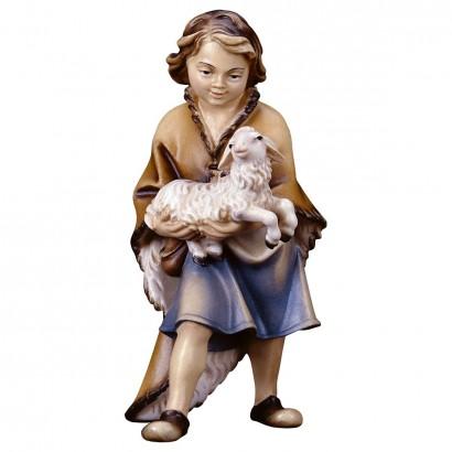 Bambino con agnello