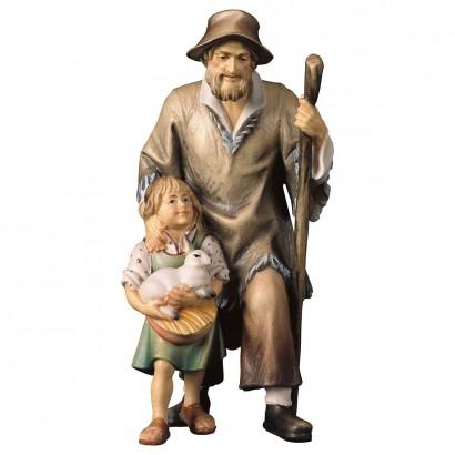 Pastore con bambina