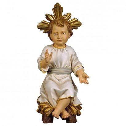 Gesù Bambino seduto su...