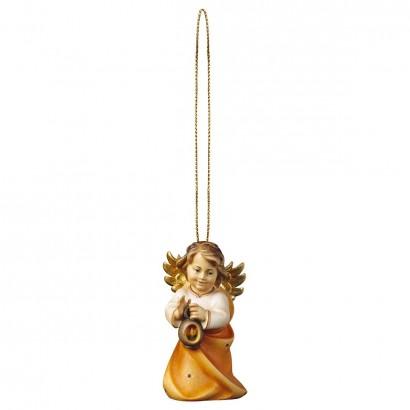 Angelo Cuore con lanterna con filo oro