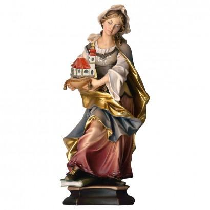 S. Adelaide da Borgogna con chiesa