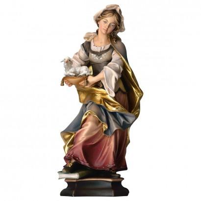 S. Agnese da Roma con agnello
