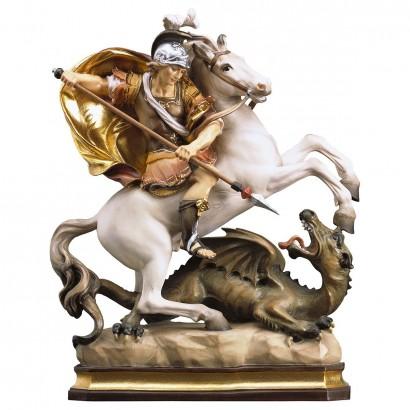 S. Giorgio a cavallo con drago