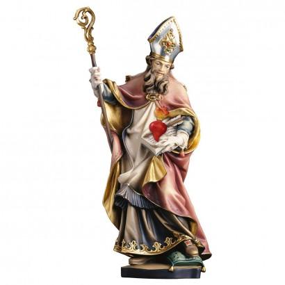 S. Agostino con cuore