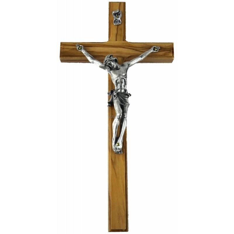 Crocefisso in legno di olivo 12x24,5