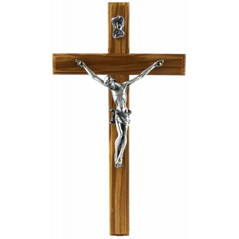 Crocefisso in legno di olivo 11x20