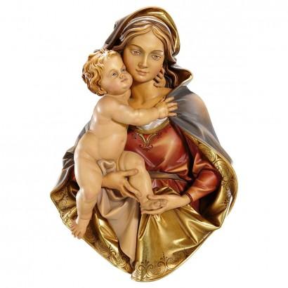 Madonna busto da appendere