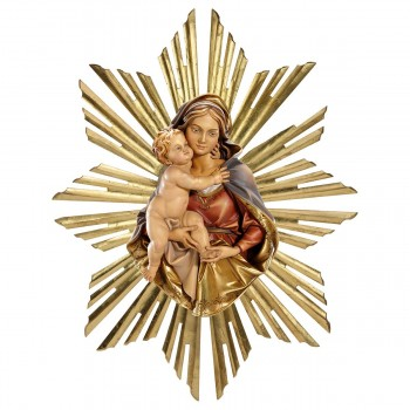 Madonna busto da appendere...