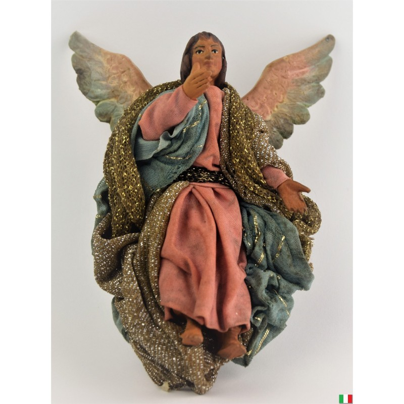 ANGELO TERRACOTTA VESTITO CM. 12
