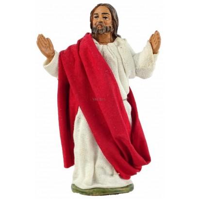 Gesù risolto in terracotta cm. 10