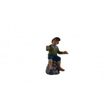 Pescatore in terracotta...