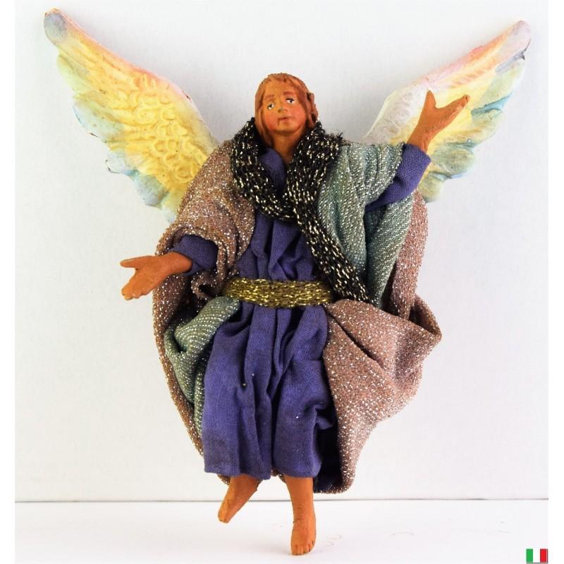 ANGELO TERRACOTTA VESTITO CM. 10