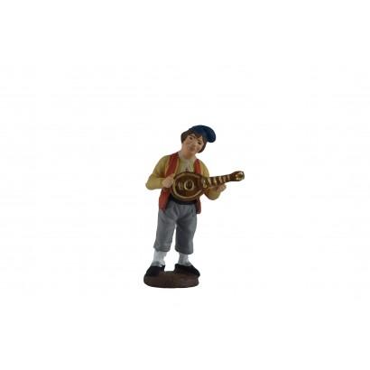 Uomo con mandolino in...