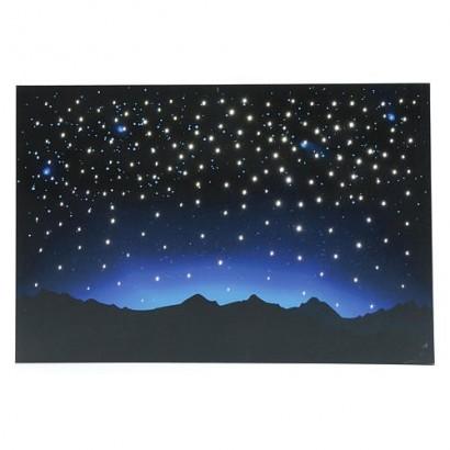 Cielo con montagna luminoso...