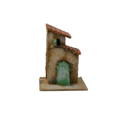 Casa con doppio tetto 11x9