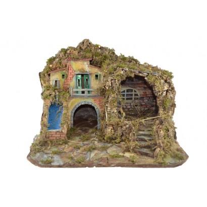 Pandorino con grotta e case...