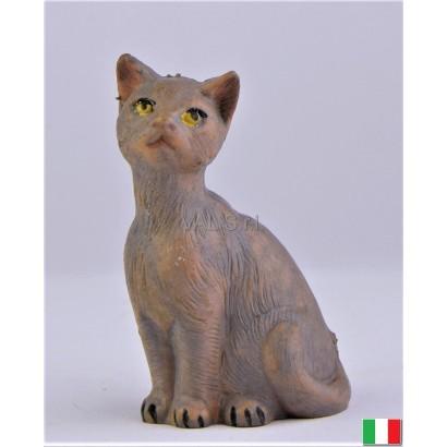 Gatto in ginocchio Fontanini cm 19