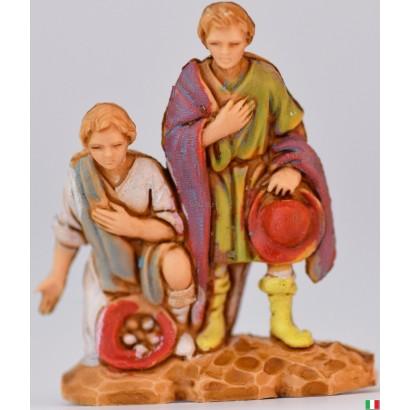 Pastori con doni Landi cm 3,5