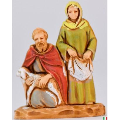 Donna con pastore...