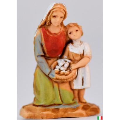 Madre e figlia landi cm 3,5