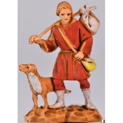 Pastore con cane landi cm 3,5