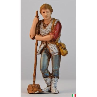 Uomo con bastone Landi cm. 8