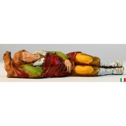 Uomo che dorme Landi cm. 8