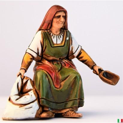 Donna castagnara landi cm. 10