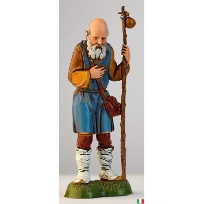 Uomo vecchio con bastone...