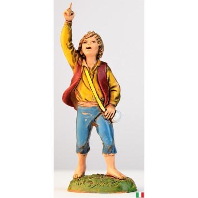 Bambino con dito alto Landi...