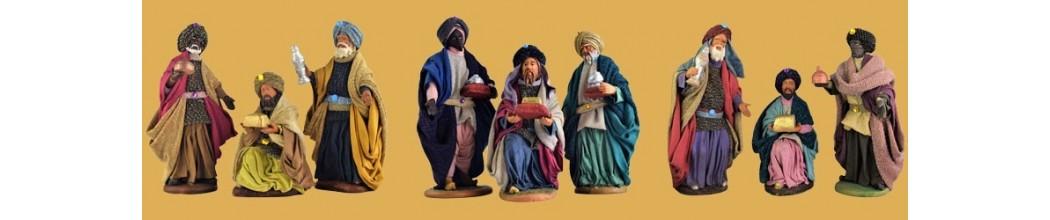 Vendita Re Magi Presepe artigianale in Terracotta - PresepeePresepi