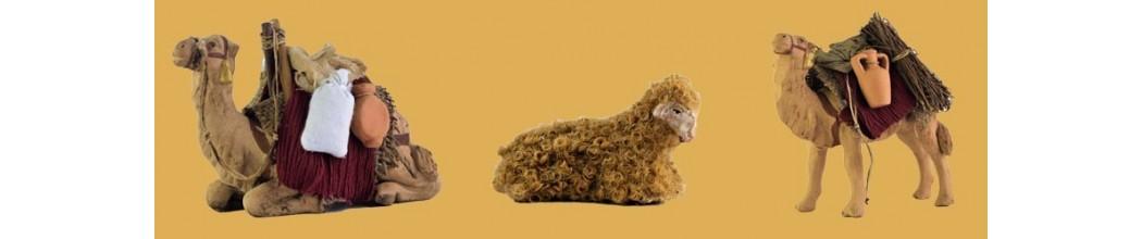 Vendita Animali Presepe artigianale in terracotta - PresepeePresepi
