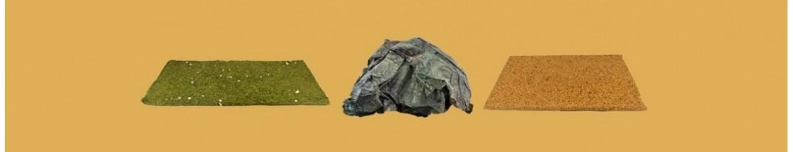 Vendita carta per prato, roccia e terra per presepe - PresepeePresepi