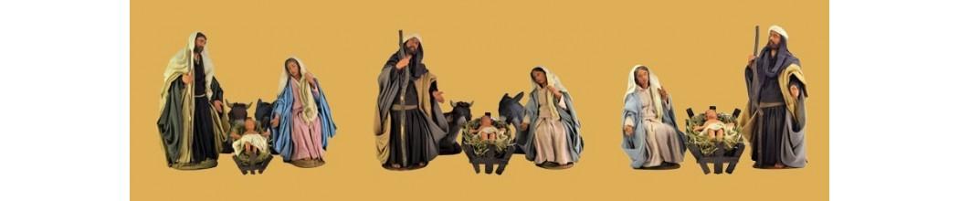 Vendita Natività per Presepe in Terracotta vestita - PresepeePresepi